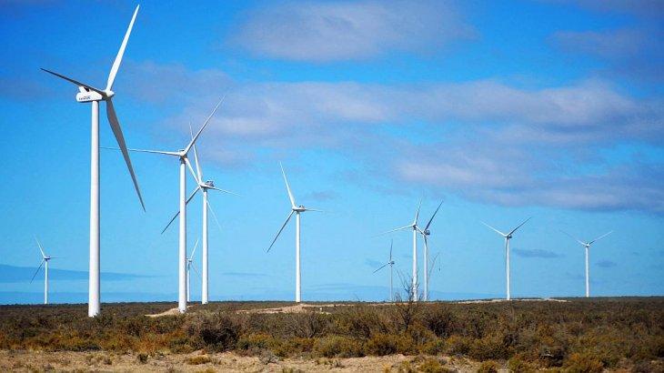 Fernández obtuvo préstamos externos por USD 150 millones para concretar el parque eólicoCañadón