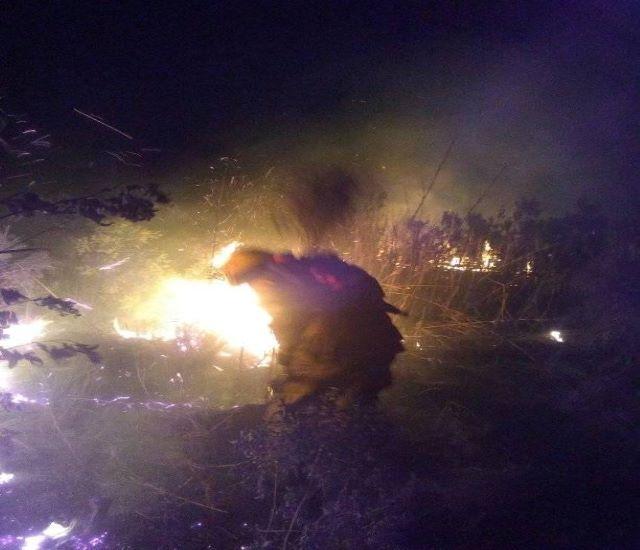 """Muchos focos de incendio en la ciudad y alerta máxima: """"si la gente no ayuda, se nos hace difícil con la humedad y elcalor"""""""