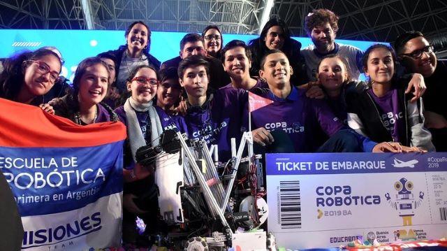 Misiones ganó la Copa Robótica e irá al Mundial de Dubái representando aArgentina