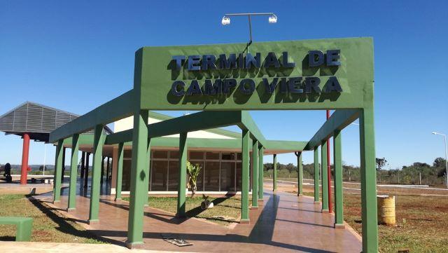 Mañana se inaugura y entra en funcionamiento la nueva terminal de CampoViera