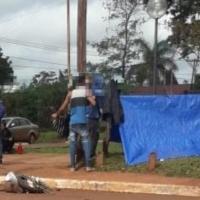 Manifestantes piden dinero a la municipalidad de Guaraní para ir a protestar a Posadas