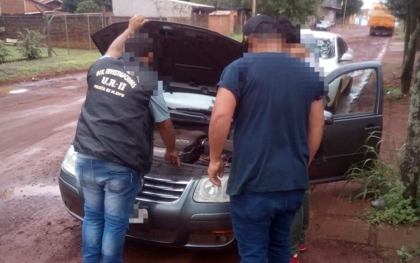Secuestraron en calle España un auto robado en BuenosAires