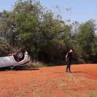 Un niño fallecido y tres heridos en un vuelco sobre ruta 5