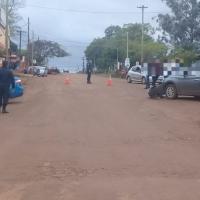 Choque en avenida Yerbal Viejo dejó una mujer herida