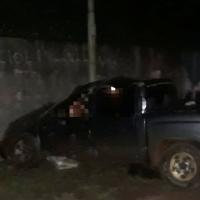 Choque contra el muro de Pincen y ruta 14 dejó dos muertos