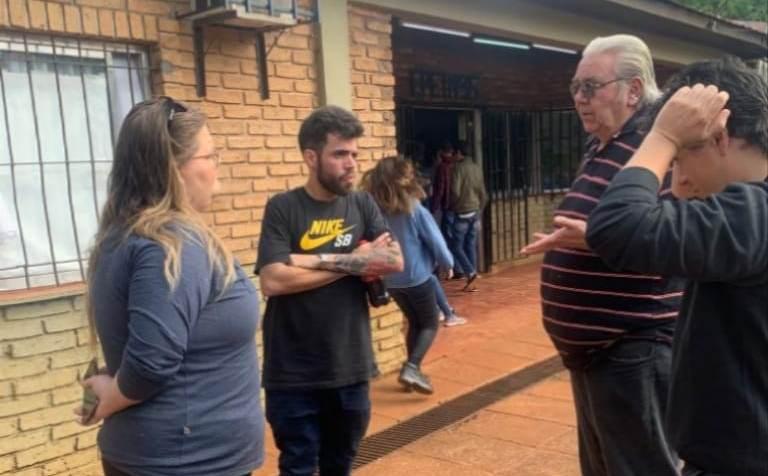Padres de la EPET 35 desesperados ante la urgente situación edilicia de lainstitución