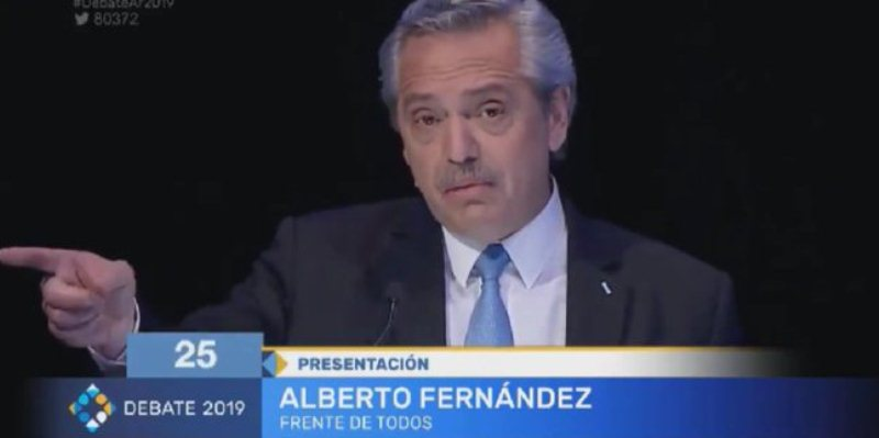 Fernández se enojó cuando le preguntaron por CFK y pidió que Macri no deje subir el dólar después del27