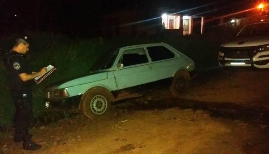 Auto robado detrás del Docente fue hallado en avenidaPerón
