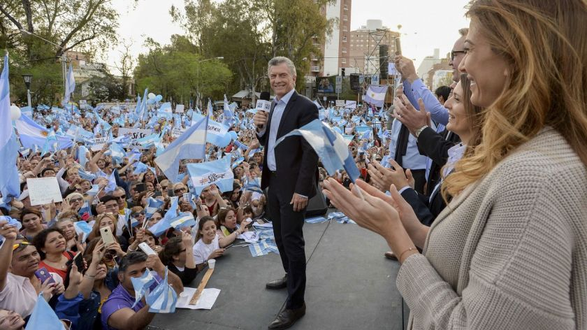 """Macri: """"Estoy para ayudar, no vine por dinero ni por fama ni porpoder"""""""