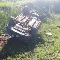 2 jóvenes resultaron lesionados por un despiste en la ruta 5