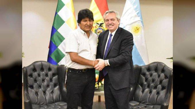 Evo Morales está en la Argentina: vivirá en el país como refugiadopolítico