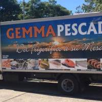 El camión de Gemma Pescados estará en plaza Malvinas el viernes con productos de mar