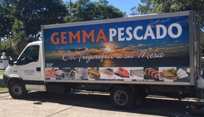 El camión de Gemma Pescados estará en plaza Malvinas el viernes con productos demar