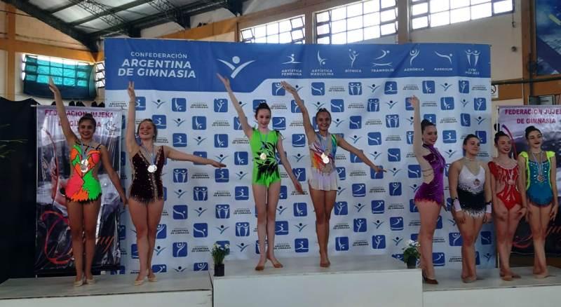 Gimnastas obereñas se destacaron en el torneo nacionalfederativo