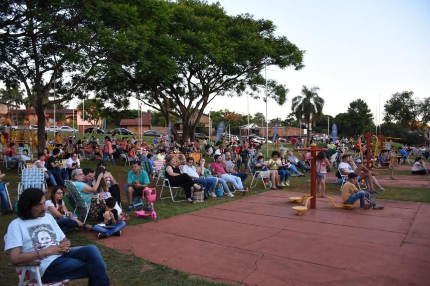 El Festival de Historia y Tradición reunió a gran cantidad de público en plazaMalvinas