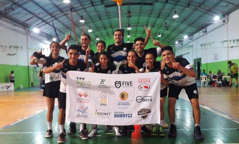 La escuela municipal de korfball se consagró bicampeonanacional