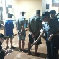 """Tres sujetos con un machete cobraban """"peaje"""" en calle Portugal y fueron detenidos"""