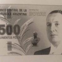 Proponen lanzar un billete de 500 pesos con el rostro de Perón