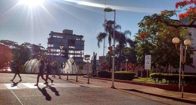 Intenso calor: máxima provincial estimada en 39ºC parahoy