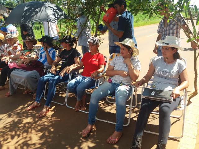 Productoras tabacaleras se encadenaron sobre la ruta 14 en SanVicente