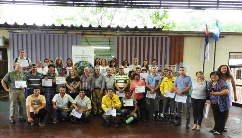 Yacyretá promueve talleres de prevención contra incendios de áreasnaturales