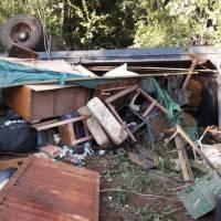 Volcó camión de mudanza dejando once heridos, entre ellos seis menores