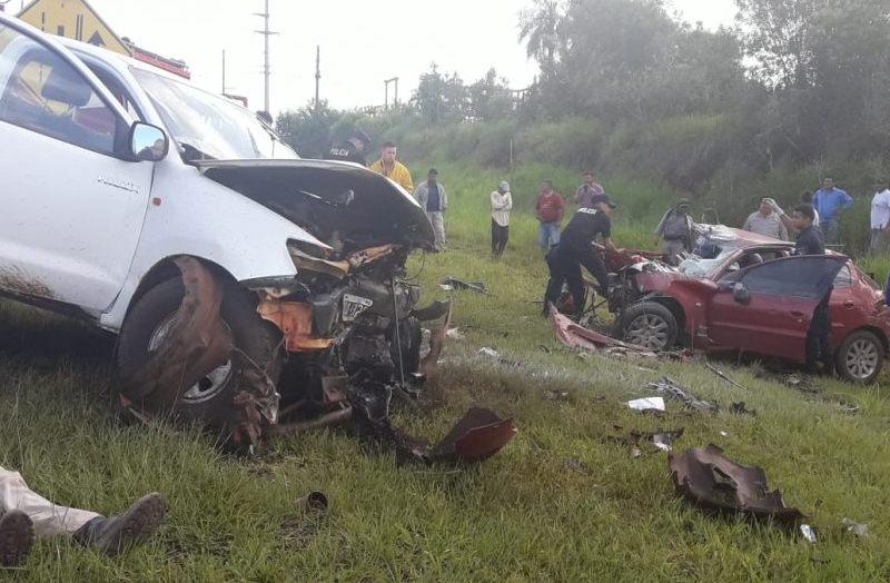 Falleció el otro ocupante del auto que chocó contra una camioneta en la ruta12
