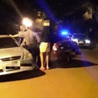 Ebrio colisionó con otro auto en calle Mar del Plata