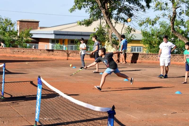 Yacyretá finaliza sus actividades deportivas y culturales en losbarrios