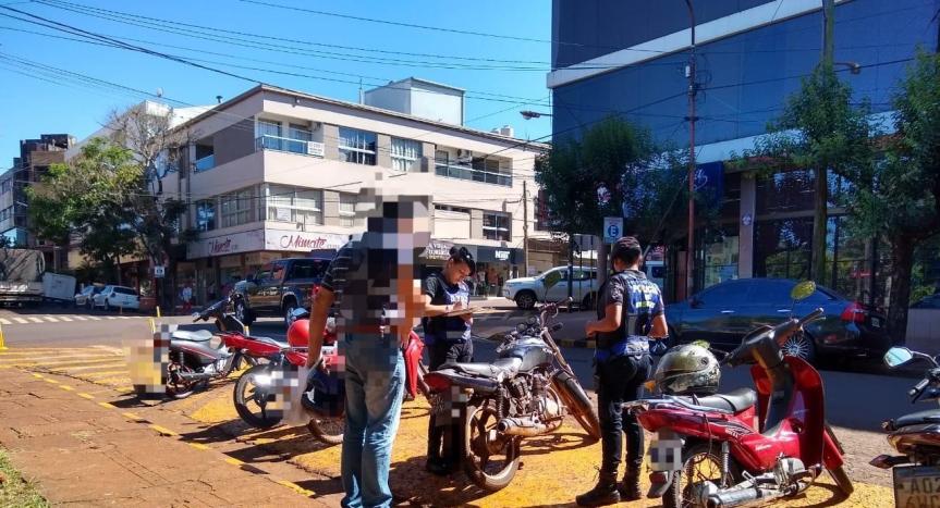 Cuatro motos y un camión secuestrados enoperativos