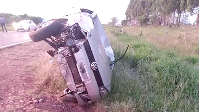 Misionero murió tras chocar el cadáver de un caballo sobre la ruta14