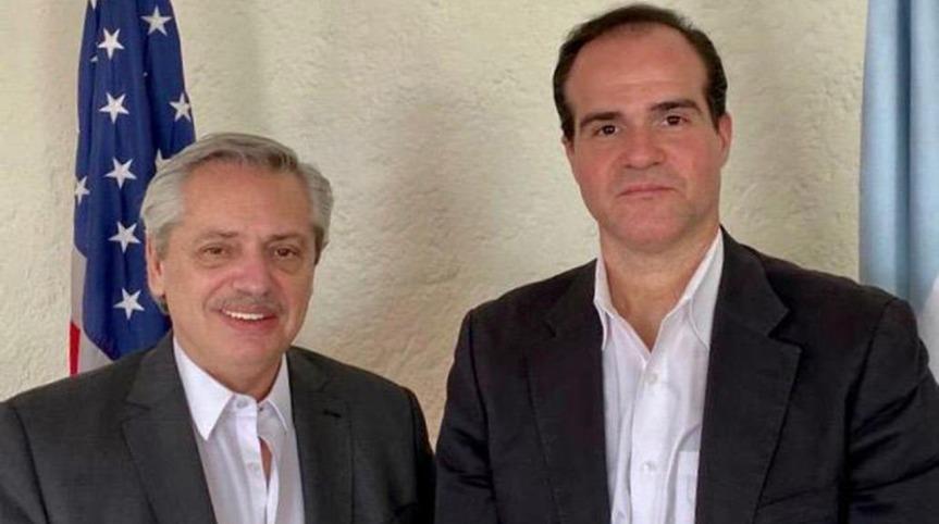 El enviado de Trump se fue de la jura de Alberto cuando vio al funcionario de NicolásMaduro