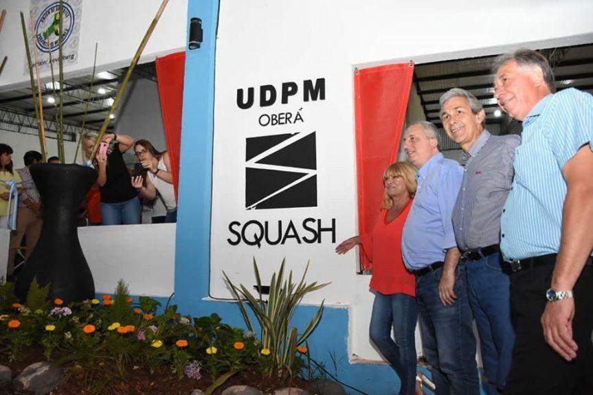 UDPM inauguró el Centro RecreativoSquash