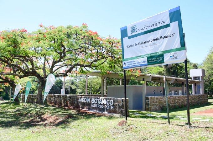 Yacyretá entregó el Centro de Visitantes para el JardínBotánico