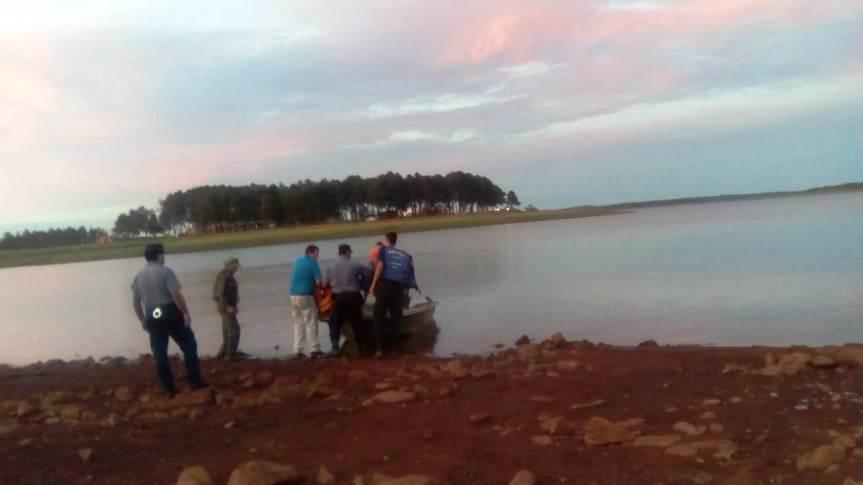 Buscan a una persona desaparecida en aguas del LagoUrugua-í