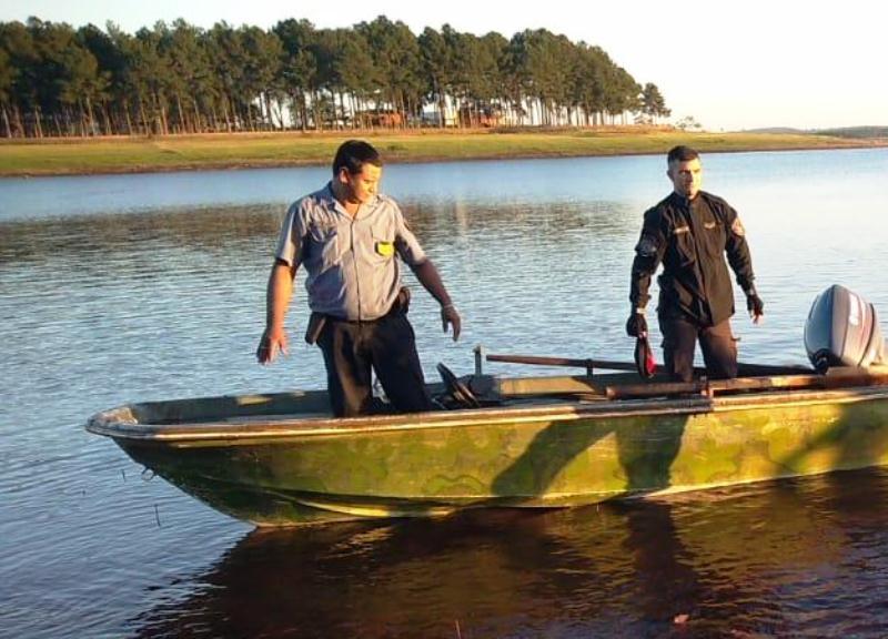 Hallaron el cuerpo sin vida del hombre que desapareció en aguas del LagoUrugua-í