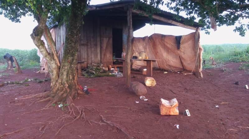 Hallaron el cuerpo de un hombre apuñalado en una plantación demandioca
