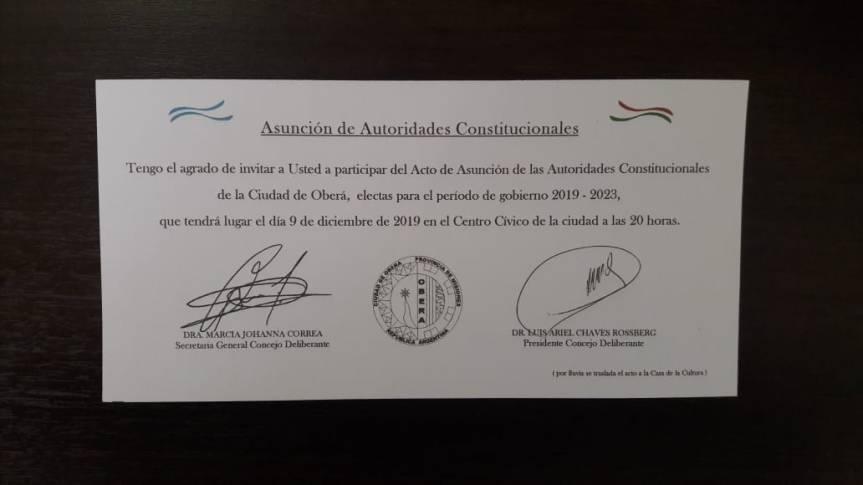 Hoy juran los nuevos concejales a las 20 en el CentroCívico