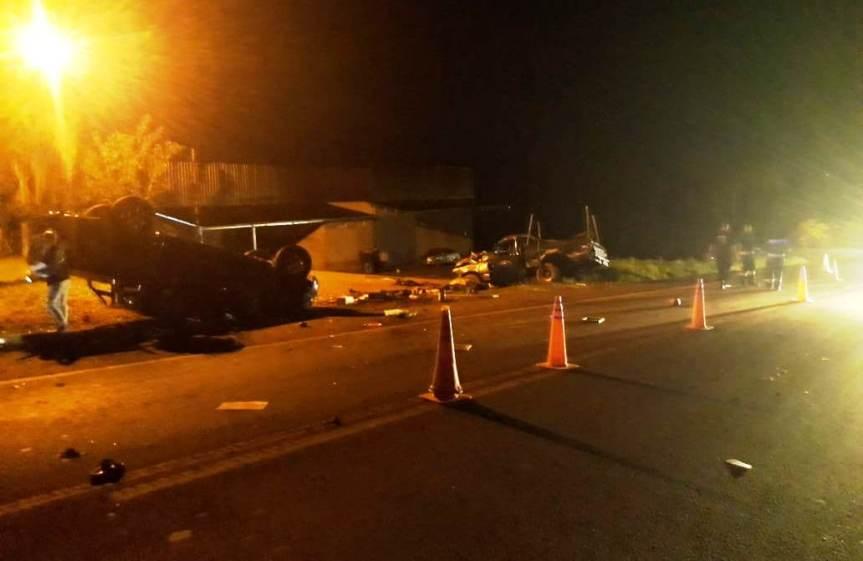 Choque entre dos camionetas en la ruta 14 dejó un menorfallecido