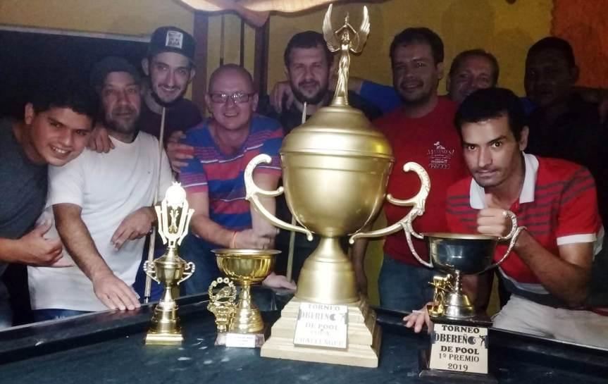 Jugadores de pool piden participar de la Fiesta del DeporteObereño