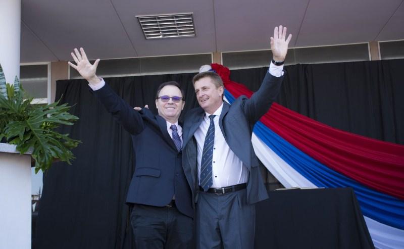 Wolenberg asumió como intendente de Leandro NAlem
