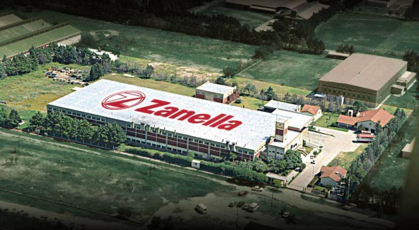 Zanella pone en venta su marca y remata lamaquinaria