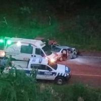 Dos fallecidos y varios heridos tras un choque entre dos vehículos sobre la ruta 14