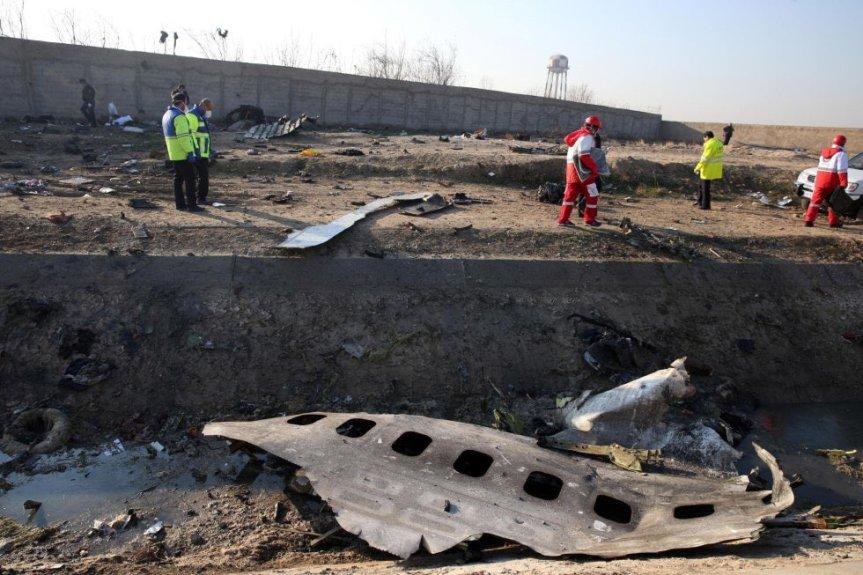 Canadá y EE.UU acusaron a Irán por el derribo del avión ucraniano con 176personas