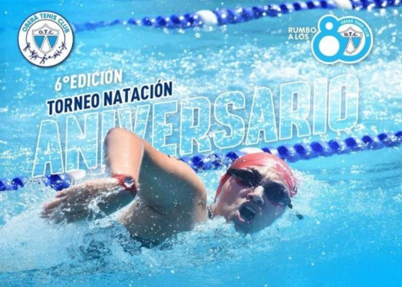 OTC celebra sus 80 años y lo festejará con el torneo de NataciónAniversario