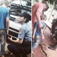 Niño de 7 años de Guaraní deambulaba desorientado por Alem