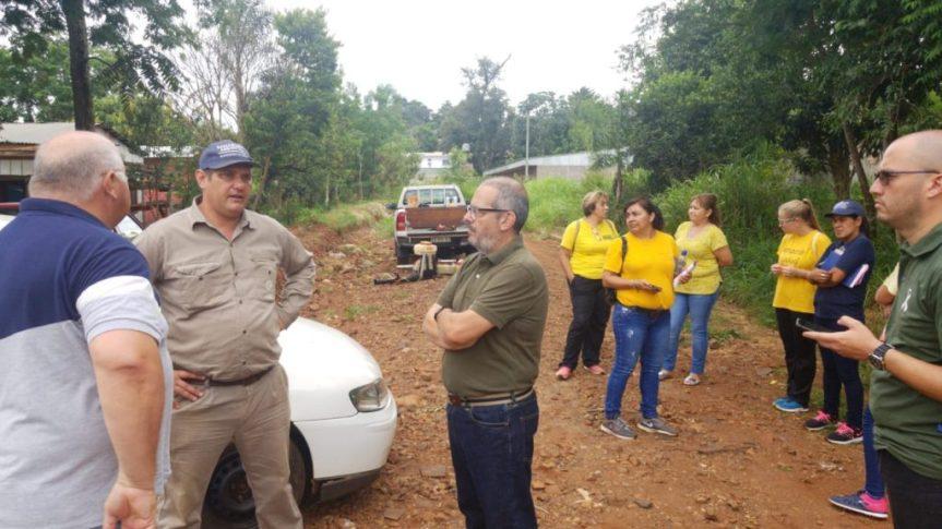 Autoridades de salud se reunieron con promotores y brindaron un operativo en villaSapucay