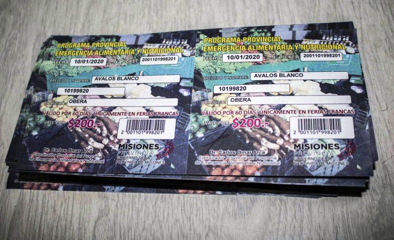 Entregarán Tickets para Ferias Francas apensionados