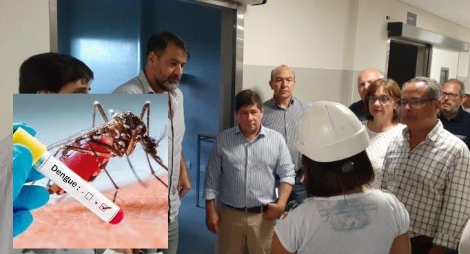 """""""Sólo hay 6 casos de dengue en Oberá"""", dijo el ministro de Salud: """"estamos conformes con el trabajo que se vienehaciendo"""""""