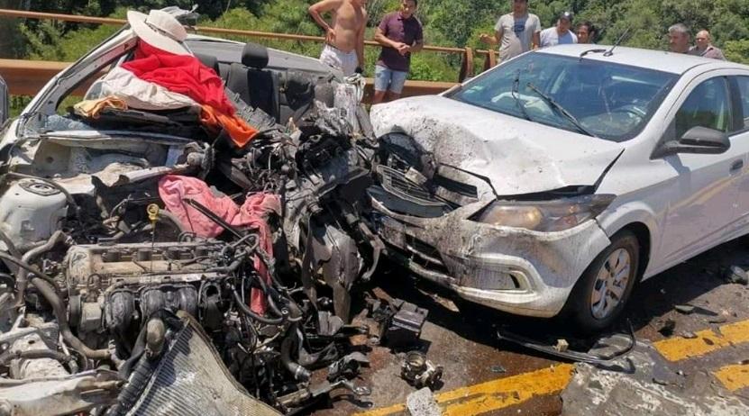 Identificaron a las tres víctimas fatales del choque múltiple en la ruta12